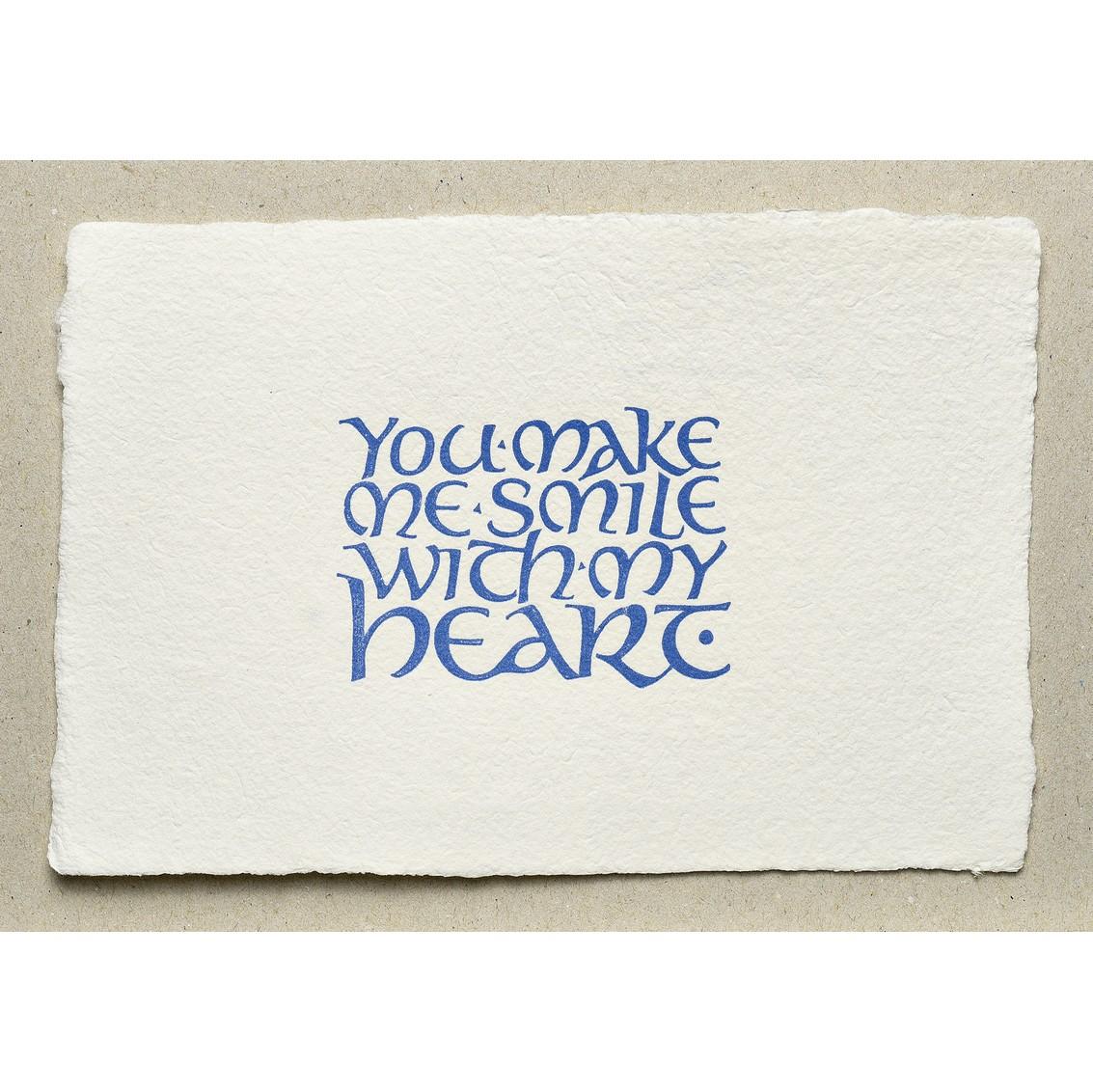 You make me smile...